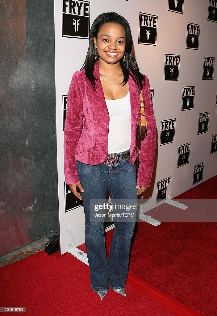 Kyla Pratt during Frye Boots Host LA Fashion Week Party October 22 2005 at The Vine Street Lounge in Hollywood California United States