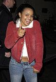 Kyla Pratt during 'Tupac Resurrection' World Premiere at Cinerama Dome in Hollywood California United States