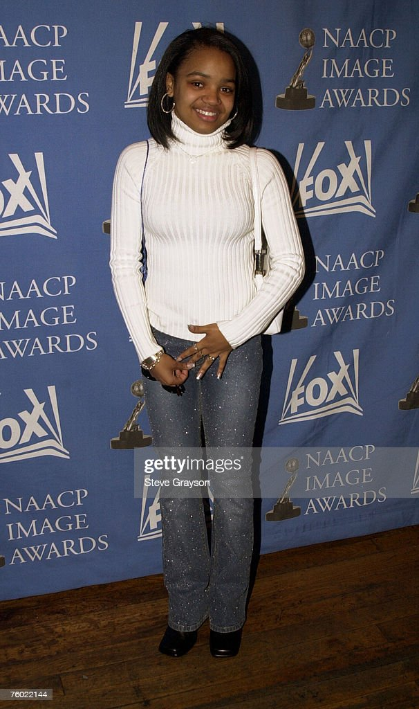 Kyla Pratt NAACP Image Award nominee for Outstanding Youth Actress poses for photographers at the nominations announcements for the 33rd NAACP Image...