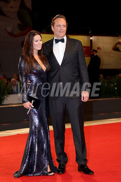Kyla Weber And Vince Vaughn Walk The Red Carpet Ahead Of The Dragged Wireimage 1026531228 Says, 'thank you for being the best dad and husband ever'. 2