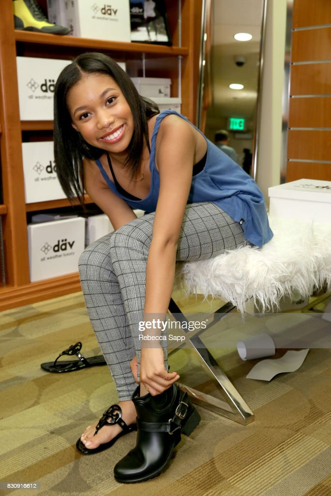 Kyla-Drew Simmons at Backstage Creations Celebrity Retreat at Teen Choice 2017 - Day 1 at Galen Center on August 12, 2017 in Los Angeles, California.