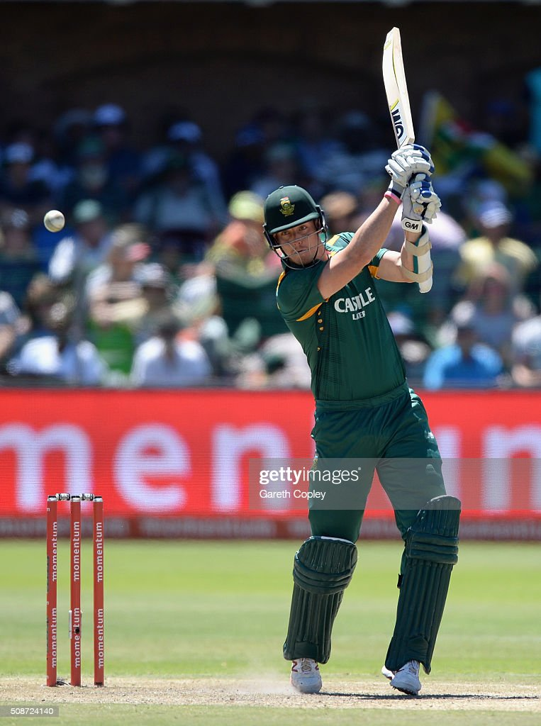 <a gi-track='captionPersonalityLinkClicked' href=/galleries/search?phrase=Kyle+Abbott&family=editorial&specificpeople=8022104 ng-click='$event.stopPropagation()'>Kyle Abbott</a> of South Africa bats during the 2nd Momentum ODI between South Africa and England at St George's Park on February 6, 2016 in Port Elizabeth, South Africa.