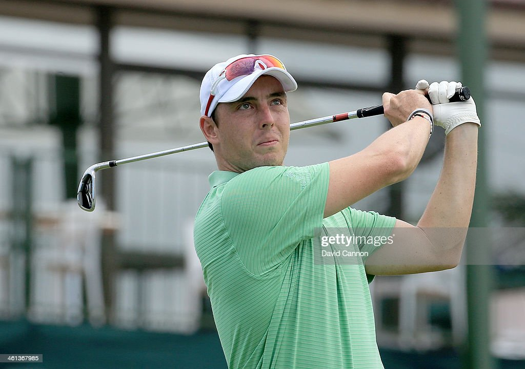 Kyle Abbott of South Africa during the pro-am as a preview for the 2014 Volvo Golf Champions tournament at Durban Country Club on January 8, 2014 in Durban, South Africa.