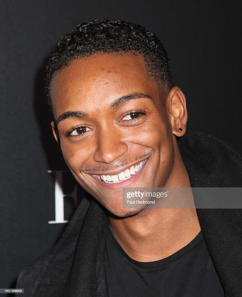 Kyle Blackmon arrives at 'L.A.Frock Stars' - Los Angeles Screening at LACMA on March 5, 2013 in Los Angeles, California.