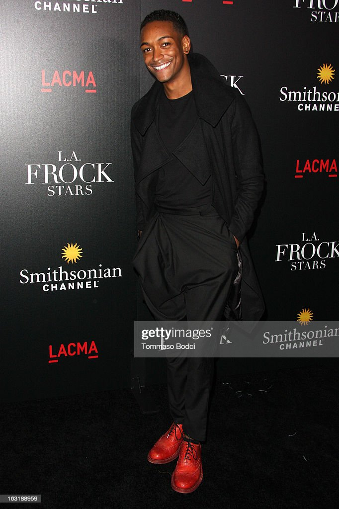 Kyle Blackmon attends the 'L.A.Frock Stars' Los Angeles screening and party held at the LACMA on March 5, 2013 in Los Angeles, California.