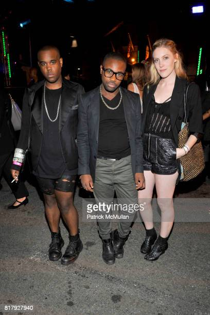 Kyle Bryan Joseph Whittingham and Erin Barr attend ALEXANDER WANG After Party at Edison Parking Lot on September 11 2010 in New York City