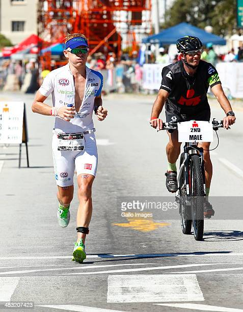 Kyle Buckingham of South Africa during the IRONMAN South Africa 2014 on April 04 2014 in Port Elizabeth South Africa
