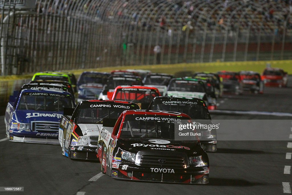 ... Charlotte Motor Speedway on May 17, 2013 in Concord, North Carolina