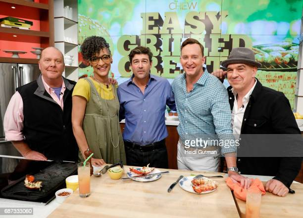 THE CHEW Kyle Chandler is the guest Tuesday May 23 2017 on ABC's 'The Chew' 'The Chew' airs MONDAY FRIDAY on the ABC Television Network SYMON