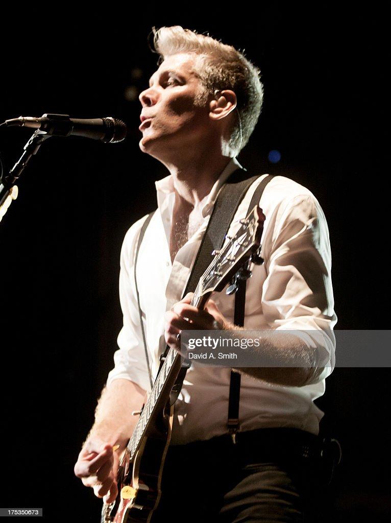 Kyle Cook of Matchbox Twenty performs at the Verizon Wireless Music Center on August 2, 2013 in Birmingham, Alabama.
