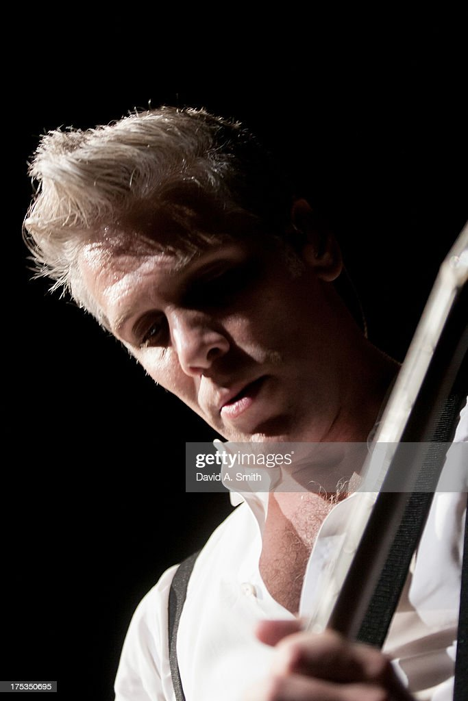 Kyle Cook of Matchbox Twenty performs at the Verizon Wireless Music Center on August 2, 2013 in Birmingham, Alabama.