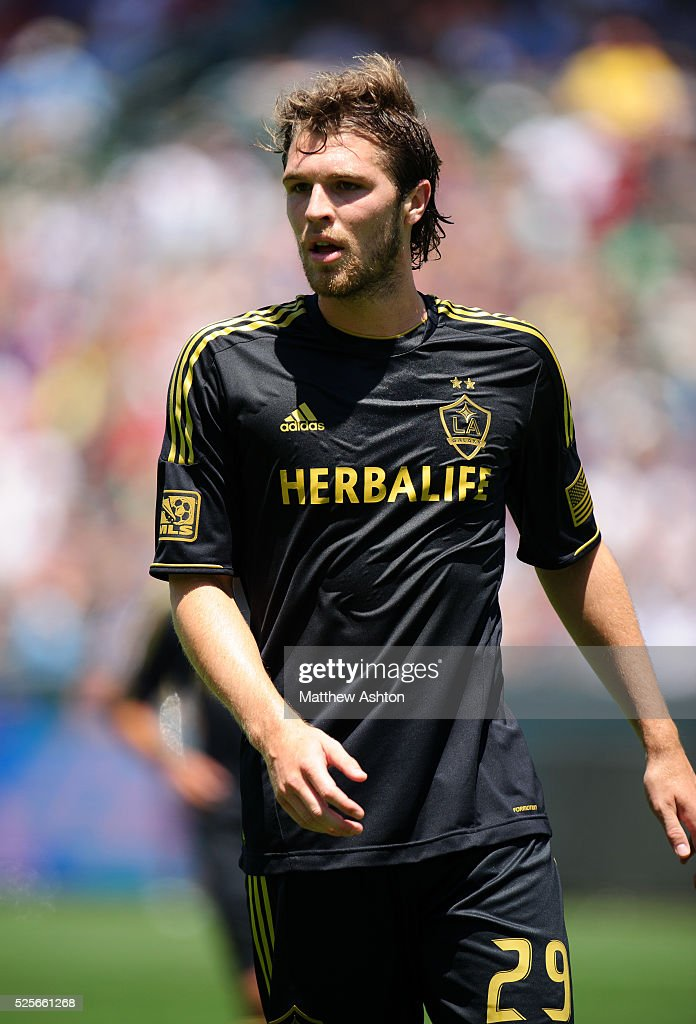 Kyle Davies of Los Angeles Galaxy