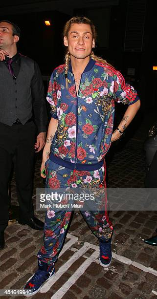 Kyle De'volle attending the Rita Ora for Adidas Originals collection launch at Mode on September 4 2014 in London England