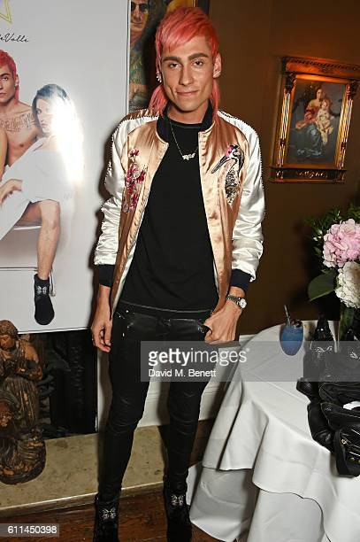 Kyle De'Volle attends the JF London x Kyle De'Volle VIP dinner at Beach Blanket Babylon on September 29 2016 in London England