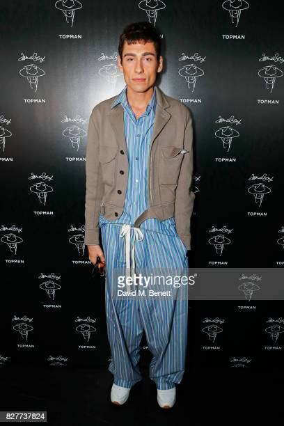 Kyle De'Volle attends the launch of James Bay's new Topman collection at The Ace Hotel on August 8 2017 in London England