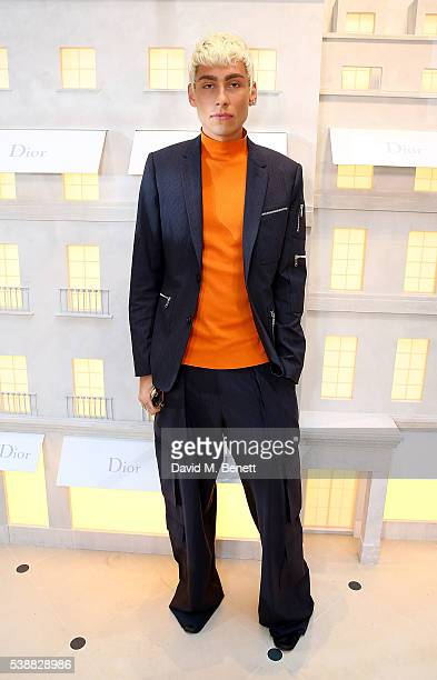 Kyle De'volle attends the opening of the House Of Dior on New Bond Street on June 8 2016 in London England