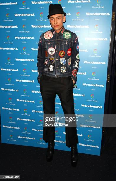 Kyle De'Volle attends the Wonderland Magazine x Google Pixel party at Tramp on February 21 2017 in London England
