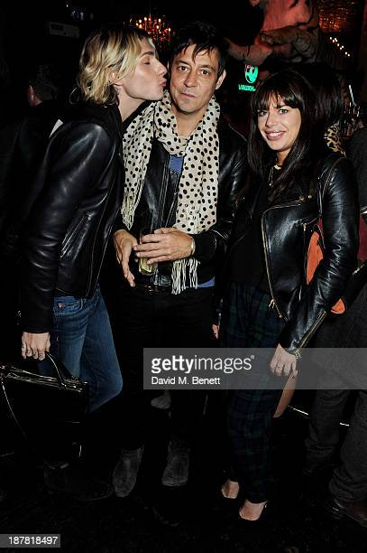 Kyle De'volle Jamie Hince and Willa Keswick attend #VauxhallPresents Made in England by Katy England screening hosted by Vauxhall Motors at The...
