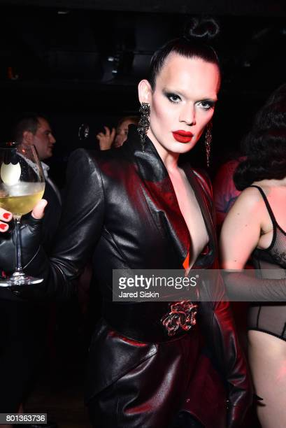 Kyle Farmery attends The Dom Perignon Vintage Trinity Launch Party at 17 Irving Place on June 22 2017 in New York City