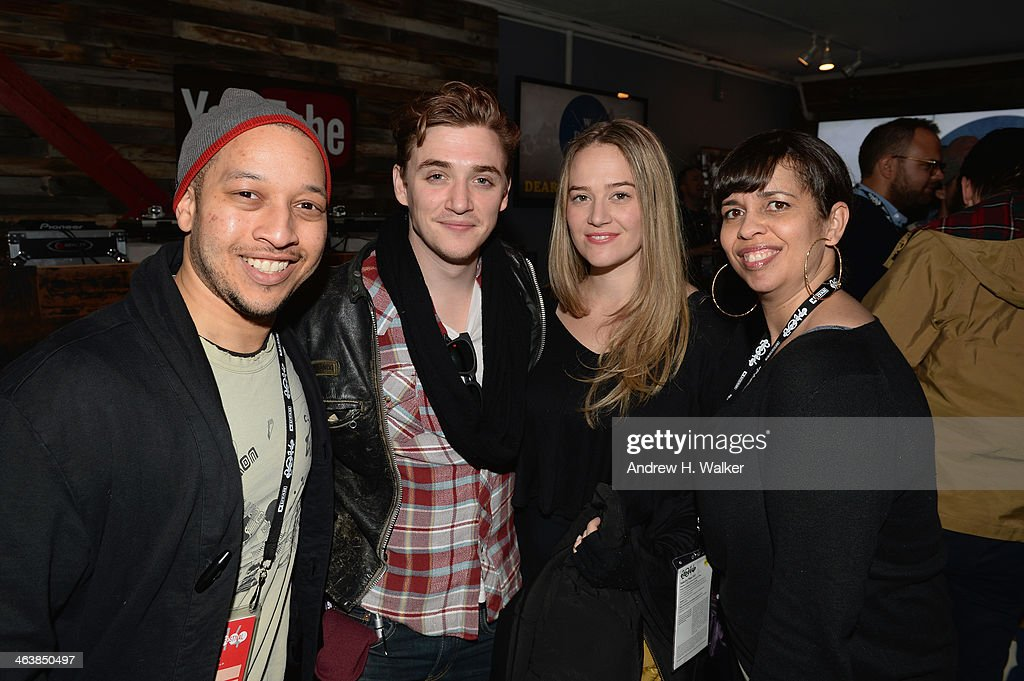 Kyle Gallner and guests attend the YouTube 'Dear White People' Reception on January 20, 2014 in Park City, Utah.