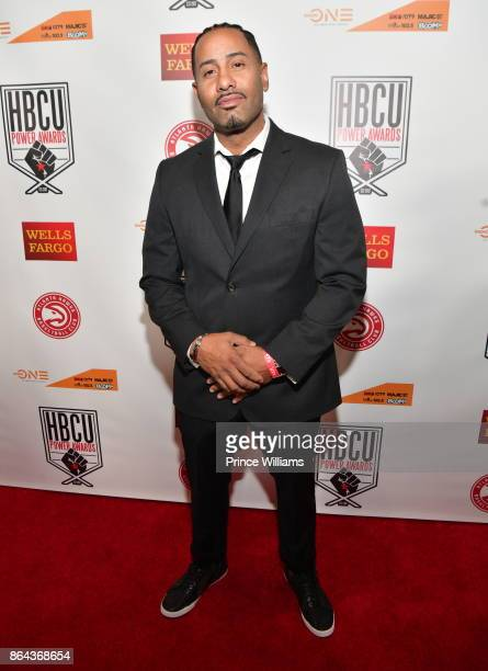Kyle Hagler attends the HBCU Power Awards at Morehouse College on October 20 2017 in Atlanta Georgia