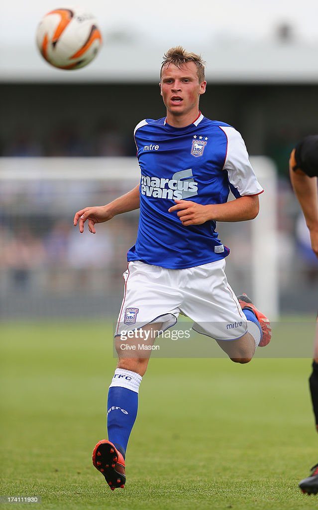 Kyle Hammond of Ipswich Town in action during the pre season friendly match between Barnet and Ipswich Town at The Hive on July 20, 2013 in Barnet, England.