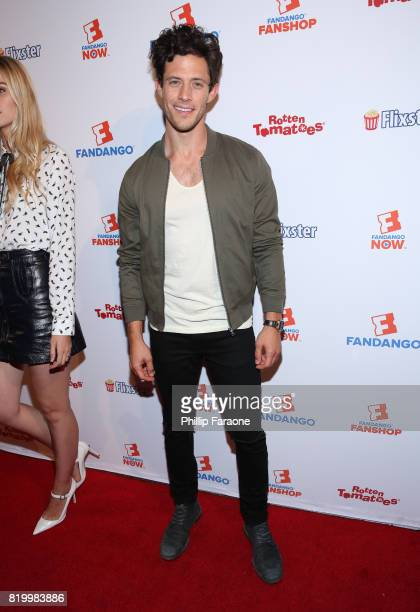 Kyle Harris attends the ComicCon International 2017 Fandango opening night party with special performance by Elle King at San Diego Convention Center...