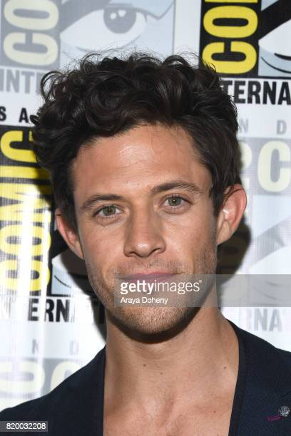 Kyle Harris attends the Stitchers press conference at ComicCon International 2017 on July 20 2017 in San Diego California