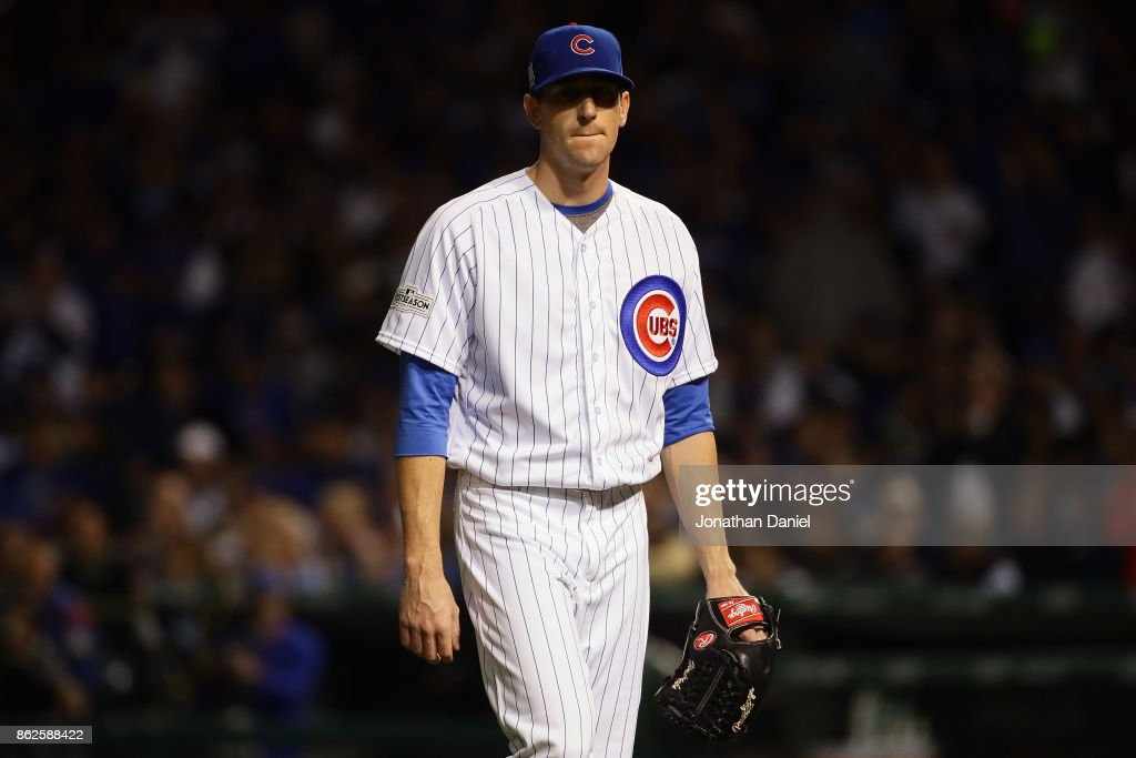 League Championship Series - Los Angeles Dodgers v Chicago Cubs - Game Three