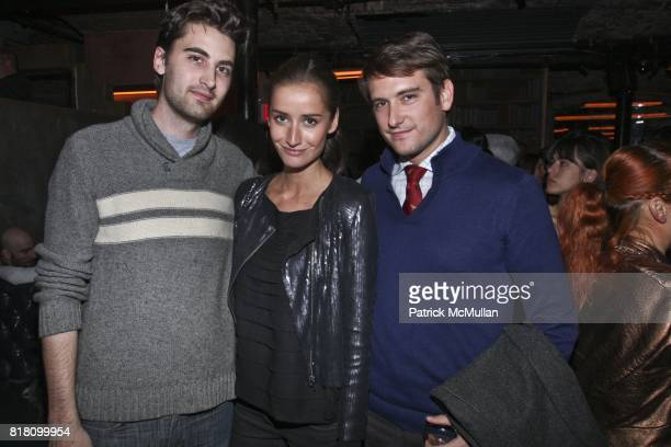 Kyle Hotchkiss Rekha Lalher Carone and Darrell Hartman attend 127 HOURS New York Premiere Hosted by GUCCI at Chelsea Clearview Cinema on November 2...