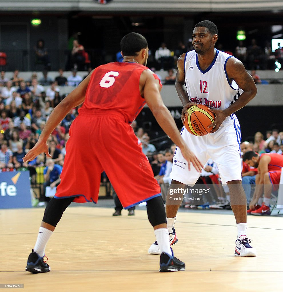 Great Britain v Puerto Rico - International Basketball