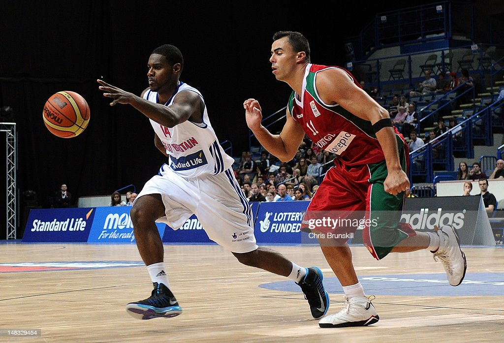 Standard Life Team GB Men v Portugal - Basketball