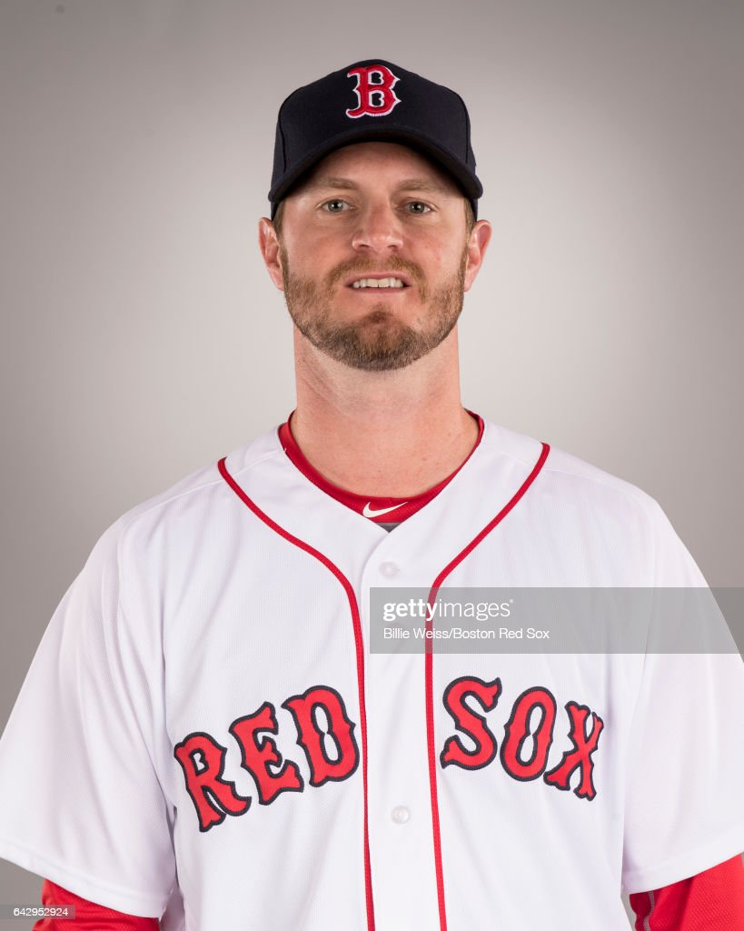 Kyle Kendrick of the Boston Red Sox poses for a portrait during photo day on February 19, 2017 at Fenway South in Fort Myers, Florida .