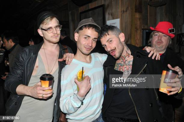 Kyle Kupres David DaSilva and Rainblo attend DANCETERIA 30th Anniversary Party at Aspen Social Club on May 9 2010 in New York City