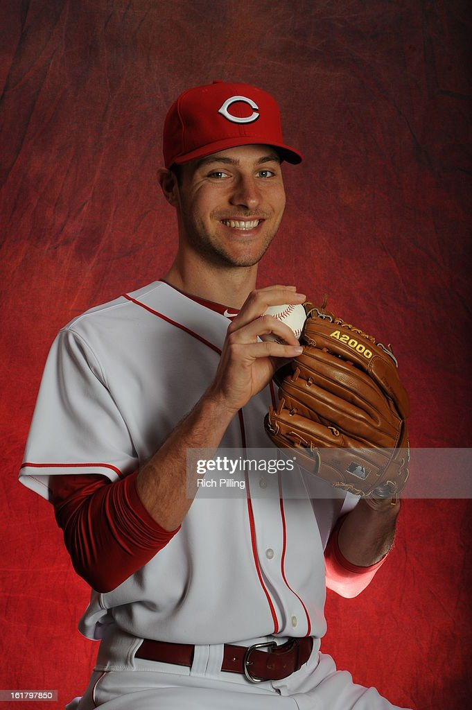 Kyle Lotzkar #71 of the Cincinnati Reds poses during MLB photo day on February 16, 2013 at the Goodyear Ballpark in Goodyear, Arizona.