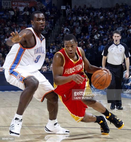 Houston Rockets Vs Oklahoma City Thunder: Malik Rose Stock Photos And Pictures