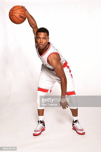 Kyle Lowry of the Toronto Raptors poses for a photo during media day on September 28 at the Air Canada Centre in Toronto Ontario Canada NOTE TO USER...