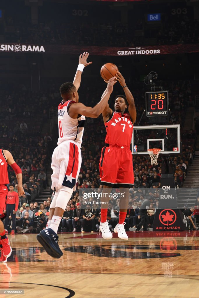 Washington Wizards v Toronto Raptors