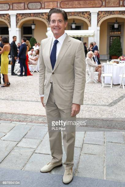Kyle MacLachan attends the cocktail party of the 57th Monte Carlo TV Festival at the Monaco Palace on June 18 2017 in MonteCarlo Monaco