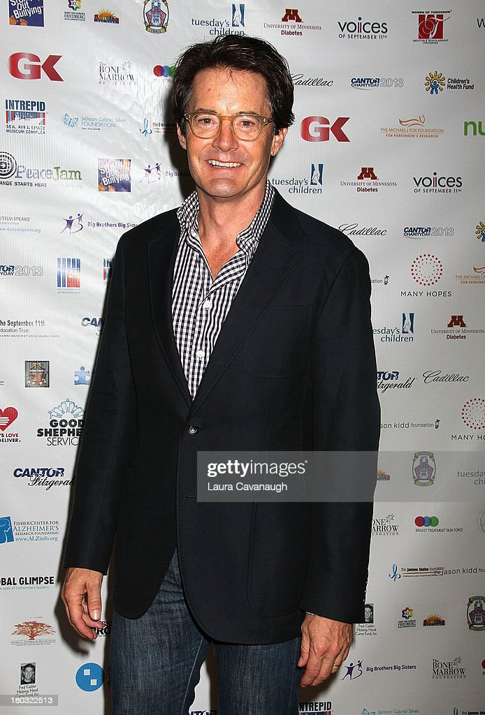 <a gi-track='captionPersonalityLinkClicked' href=/galleries/search?phrase=Kyle+MacLachlan&family=editorial&specificpeople=213038 ng-click='$event.stopPropagation()'>Kyle MacLachlan</a> attends Cantor Fitzgerald And BGC Partners Annual Charity Day at Cantor Fitzgerald on September 11, 2013 in New York City.