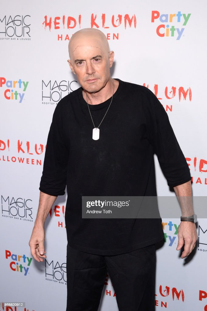 Kyle MacLachlan attends Heidi Klum's 18th annual Halloween party at Magic Hour Rooftop Bar & Lounge on October 31, 2017 in New York City.