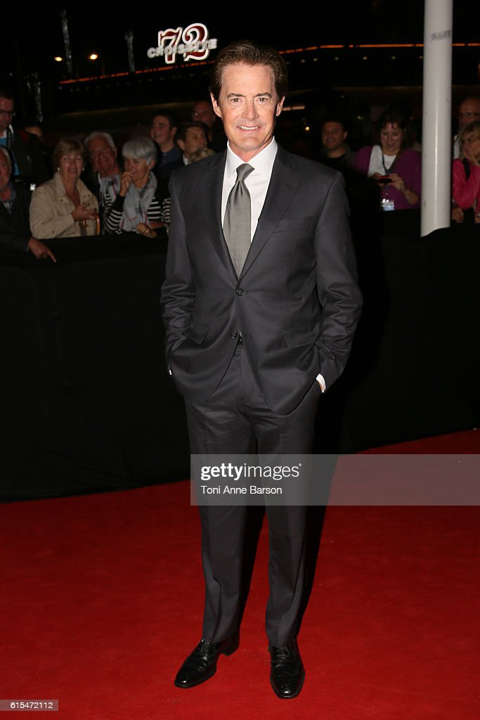 Kyle MacLachlan attends MIPCOM Opening Party at Martinez Hotel on October 17, 2016 in Cannes, France.