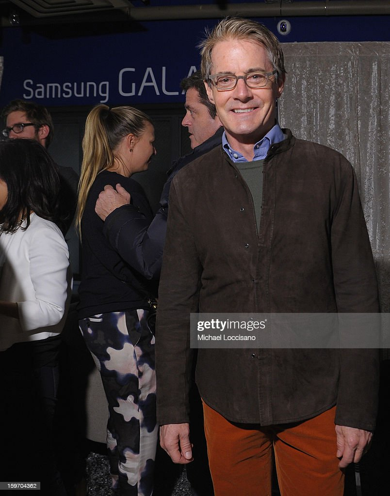 <a gi-track='captionPersonalityLinkClicked' href=/galleries/search?phrase=Kyle+MacLachlan&family=editorial&specificpeople=213038 ng-click='$event.stopPropagation()'>Kyle MacLachlan</a> attends Night 1 of Samsung at Village At The Lift 2013 on January 18, 2013 in Park City, Utah.