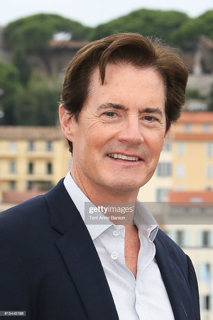 Kyle MacLachlan attends Photocall for 'Twin Peaks' as part of MIPCOM at Palais des Festivals on October 17, 2016 in Cannes, France.
