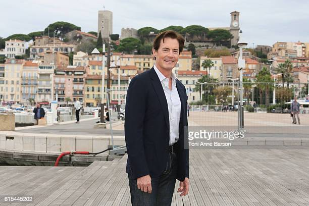 Kyle MacLachlan attends Photocall for 'Twin Peaks' as part of MIPCOM at Palais des Festivals on October 17 2016 in Cannes France