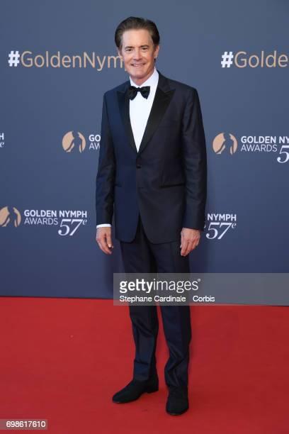 Kyle MacLachlan attends the 57th Monte Carlo TV Festival Closing Ceremony on June 20 2017 in MonteCarlo Monaco