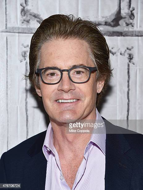 Kyle MacLachlan attends the AOL BUILD Speaker Series Kyle Maclachlan Discusses His New Film 'Inside Out' at AOL Studios In New York on June 11 2015...