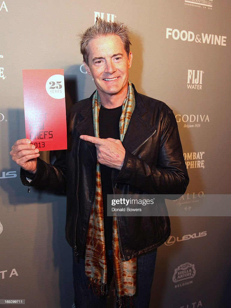 Kyle MacLachlan attends The FOOD & WINE 2013 Best New Chefs Party at Pranna Restaurant on April 5, 2013 in New York City.