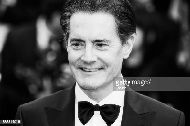 Kyle MacLachlan attends the 'Twin Peaks' screening during the 70th annual Cannes Film Festival at Palais des Festivals on May 25 2017 in Cannes France