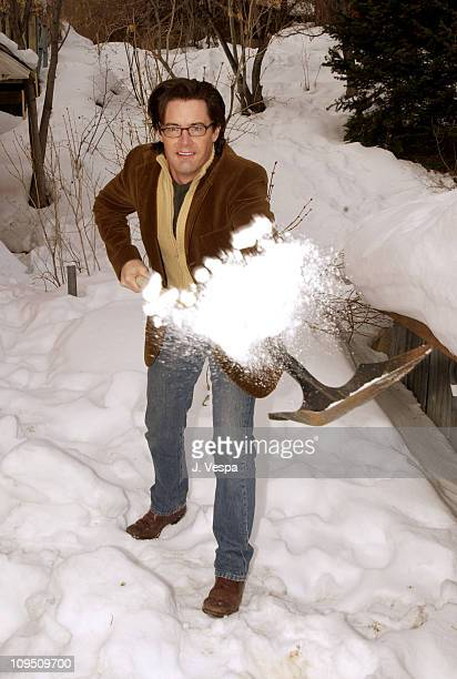 Kyle MacLachlan during 2002 Sundance Film Festival 'Miranda' Portraits at Harry O's in Park City Utah United States